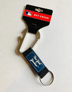 Llavero Carabiner New York Yankees, Producto Oficial Mlb