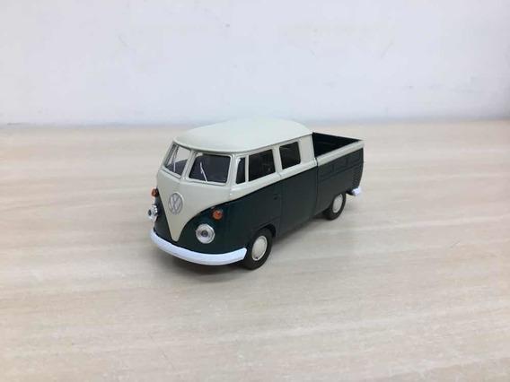 Miniatura Kombi Pick-up Verde Clássicos Brasileiros