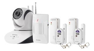 Sistema De Seguridad Wi-fi Con Cámara Y Sensores