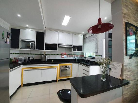 Sobrado Com 2 Dormitórios 2 Suítes , 2 Vagas Venda, 93 M² Por R$ 405.000 - Vila Esperança - São Paulo/sp - So2785