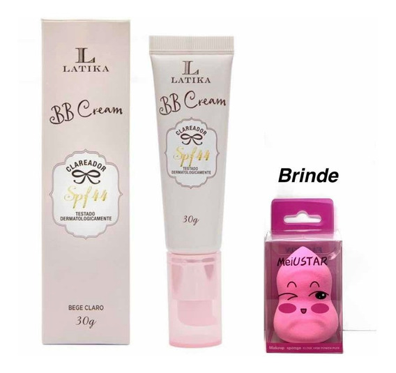 Bb Cream Clareador Spf44 Latika 30g - Bege Claro Original