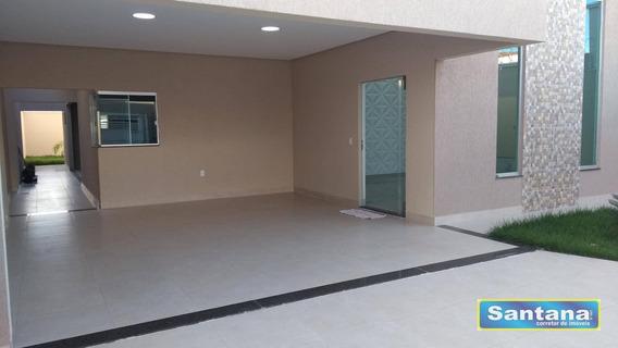 Casa Com 3 Dormitórios À Venda, 180 M² Por R$ 500.000,00 - Estancia Itaguai - Caldas Novas/go - Ca0065