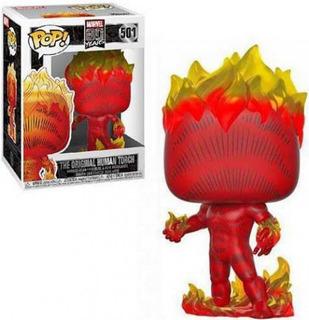 Funko Pop #501 The Original Human Torch - Marvel 80th Nuevo!