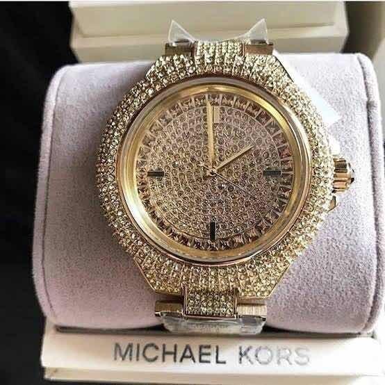 Relógio Michael Kors Brilhoso Original