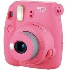 Camera Instax Mini 9 Instantanea Rosa Flamingo Fujifilm