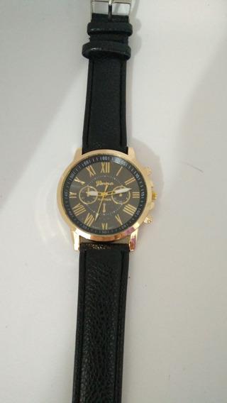 10 Relógio Feminino Original Couro Sortidos Barato!
