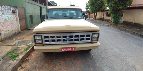 Ford F. 1000, Ano 92, Motor 229, Bege, 2 Portas