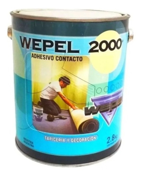Adhesivo Doble Contacto Wepel 2000 2.8 Kg - 4 Litros