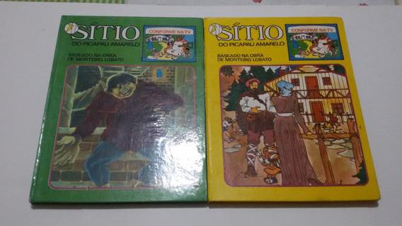 Lote 3 Livros Sitio Do Pica Pau Amarelo + 12 Livros Infantis