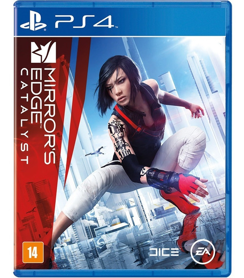 Mirrors Edge Catalyst Ps4 Mídia Física Novo Lacrado