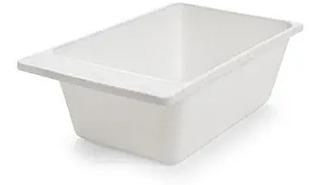 Cubeta Blanca Cómoda Compatible Con Invacare