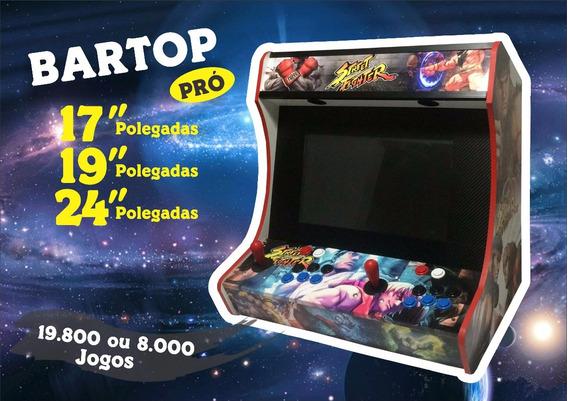 Fliperama Bartop Premium 24 Malvadeza 41374 Jogos