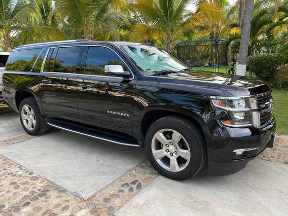 Chevrolet Suburban 5.4 Premier Piel 4x4 At 2018