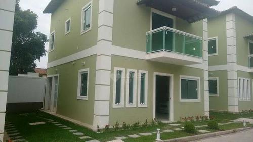 Imagem 1 de 10 de Casa Duplex, 1° Locação, Com 3 Quartos, 91 M² Por R$ 650.000,00 - Mata Paca - Niterói/rj - Ca13316