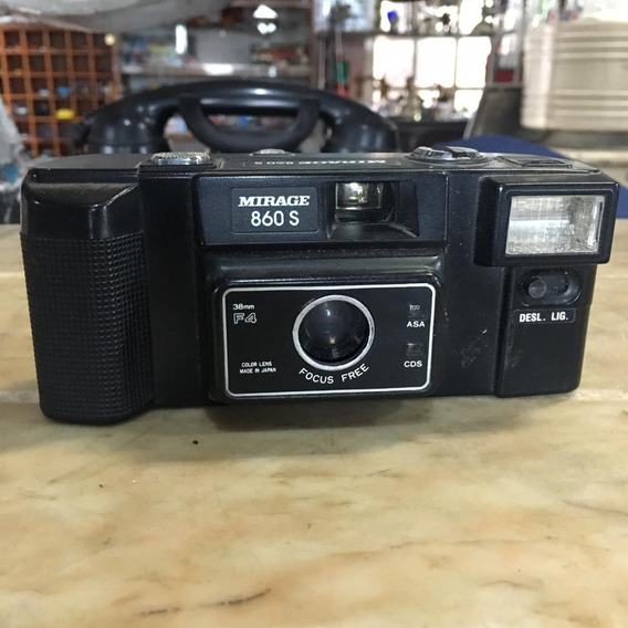 Câmera Antiga Mirage 860s Ñ Canon Fita De Video 1482