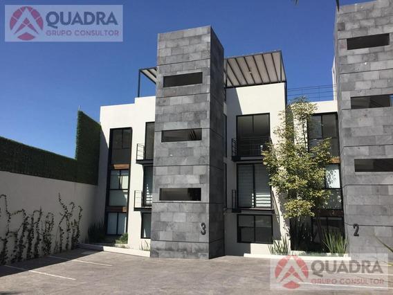 Departamento En Renta Amueblado En Colonia La Paz, Puebla.
