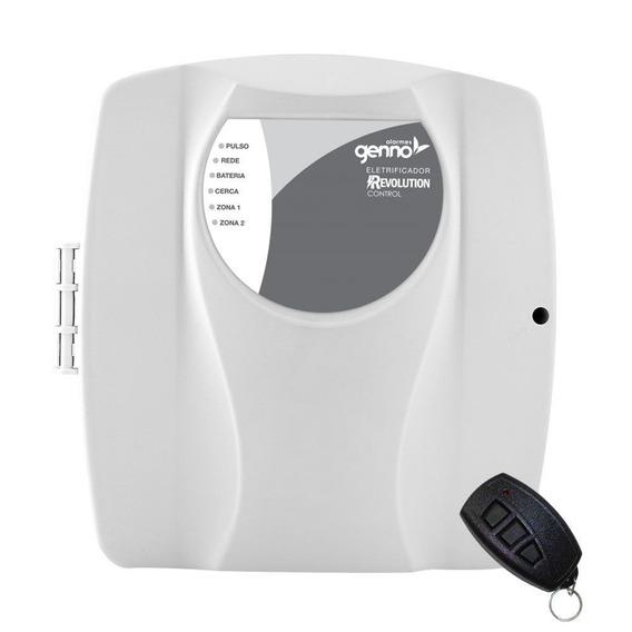 Central De Cerca Elétrica C/ Alarme Genno Revolution Control
