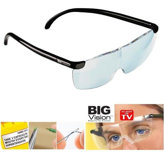 Lentes Big Vision Aumento 160% Original Tv Luz Led Original