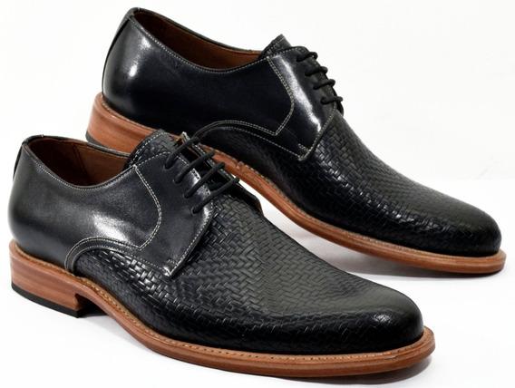 Zapato Hombre Cuero Vestir Giorgio Beneti 2577 Calzados Susy