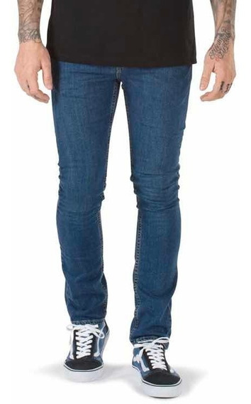 Pantalon Jeans Vans Skinny Para Hombre 100% Original Prem 45
