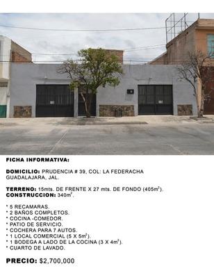 Casa Para Uso Vivienda, Comercial O Bodega