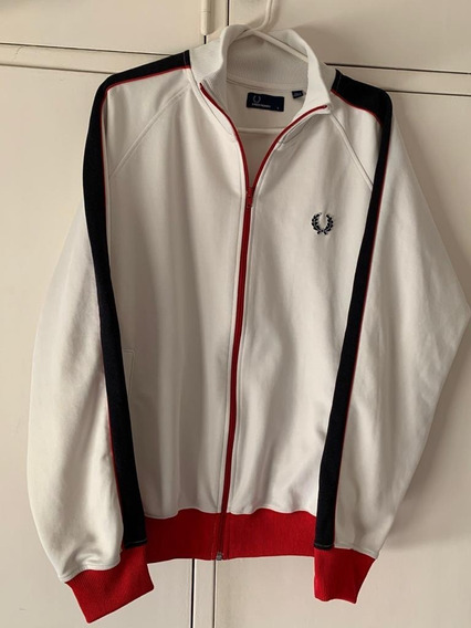 Campera Fred Perry - Sport - Retro - Talle L