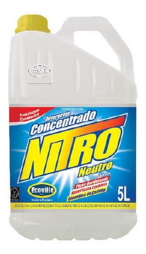 Detergente Neutro Concentrado Nitro 5l