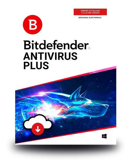 Bitdefender Antivirus Plus1 Usuario, 1 Año