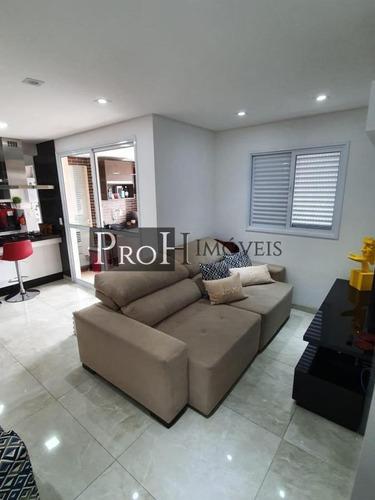 Imagem 1 de 15 de Apartamento Para Venda Em Santo André, Vila Bastos, 2 Dormitórios, 1 Suíte, 2 Banheiros, 3 Vagas - Morbostai