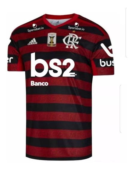 Camisa Flamengo 19/20 Oficial Patch Brasileiro Envio Já