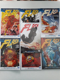 Flash Rebirth Volumen 1 Al 7 - Dc Comics