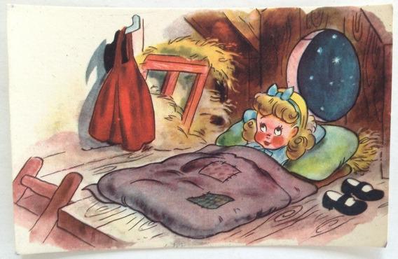 Antigua Tarjeta Postal Infantil N° 7 Codex Año 1952