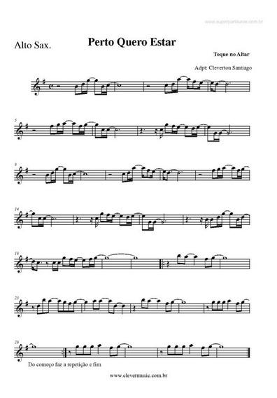 Lindas Partituras De Sax + Casamento - Gospel + Playbacks