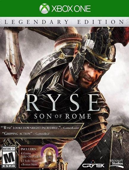 Ryse Edição Lendária Xbox One - 25 Dígitos (envio Flash)