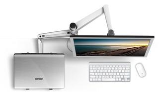 Base Para Monitor Y Laptop De Aluminio
