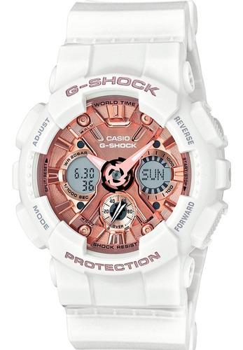 Relógio Casio G-shock Feminino Gma-s120mf-7a2dr + Original