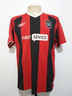 Camisa Futebol Manchester City Inglaterra 2003 Away Reebok G