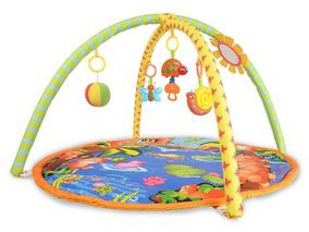Tapete Atividades Musical Infantil 5 Brinquedos Tigre