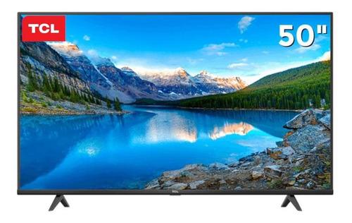 Smart Tv 50 Tcl P615 Android Led 4k Uhd Hdr Comando De Voz