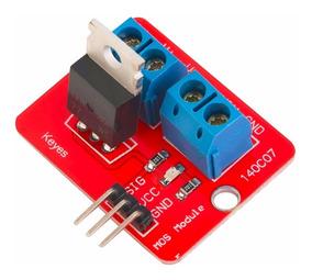Shield Dimmer Dc Mosfet Módulo Driver P/ Arduino