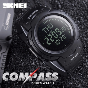 Relógio Digital Shock Resistente Aprova Dàgua Com Bussola