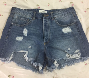 Short Jeans Feminino Da Marca Forever 21 Tamanho G Boyfr