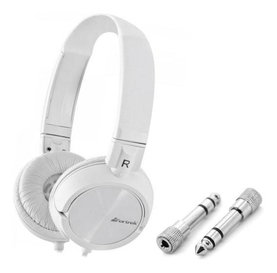 Fone Ouvido Profissional Headphone Powerfull Bass+ Adaptador