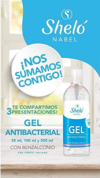 Gel Antibacterial 500ml Con Benzalconio Shelo Nabel
