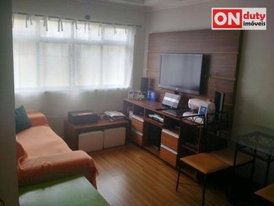 Apartamento Residencial À Venda, Campo Grande, Santos. - Ap4058