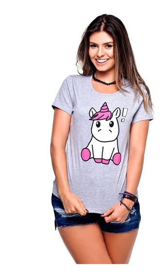 15 T-shirt Blusa Feminina Babylook 100% Algodão Atacado