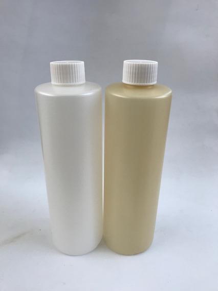 Envase 500cc C/tapa Ciega Simple Colores Shampoo 1un