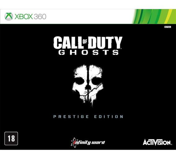 Call Of Duty Ghosts - Prestige Edition + Câmera Hd 1080p