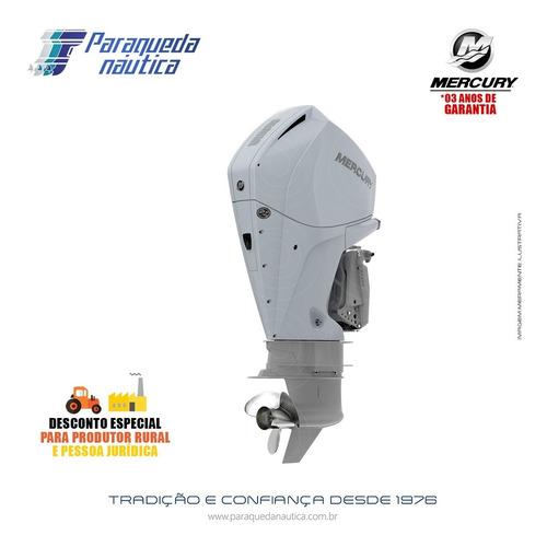 Motor De Popa Mercury 4 Tempos 225hp L Efi V6 Dts Branco
