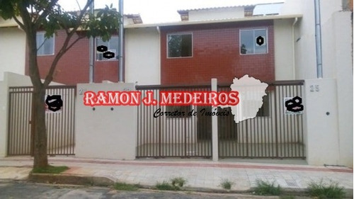 Rio Branco Linda Casa Duplex 2qts 2wcs Em Belo Horizonte-mg